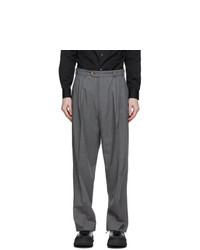 mfpen Grey Classic Trousers
