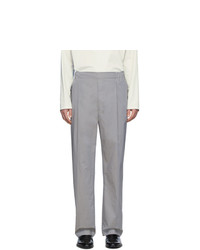 Lemaire Grey Poplin Trousers
