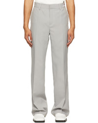 Misbhv Grey Recordings Relaxed Tailored Trousers