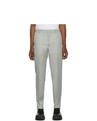Jil Sander Grey Straight Trousers