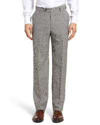 Berle Houndstooth Wool Trousers