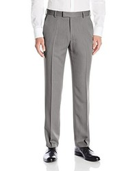 Kenneth Cole Reaction Urban Heather Slim Fit Flat Front Dress Pant