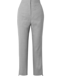 Burberry Med Wool Straight Leg Pants