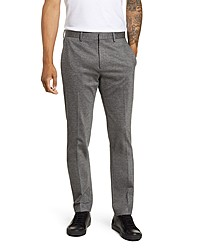 Theory Payton Marled Ponte Knit Straight Leg Pants