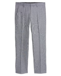 Nordstrom Shop Non Iron Athletic Fit Textured Pants