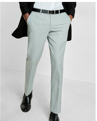 Express Slim Gray Dress Pant