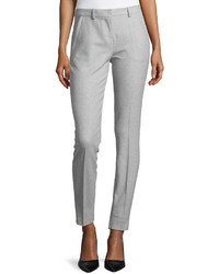 Philosophy di Alberta Ferretti Slim Zip Cuff Pants Gray