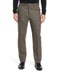 Berle Stretch Houndstooth Wool Trousers