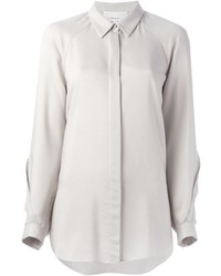 3.1 Phillip Lim Curved Lace Detail Shirt