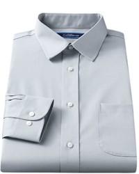 croft & barrow Classic Fit Easy Care Solid Spread Collar Dress Shirt