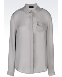 Emporio Armani Blouse In Silk Georgette
