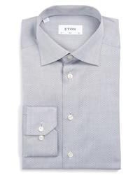 Eton Slim Fit Micro Dot Dress Shirt
