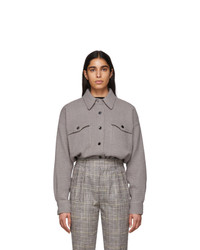 Isabel Marant Grey Dennao Shirt