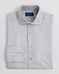 Bloomingdale's Hilditch Key Solid End On End Dress Shirt Regular Fit