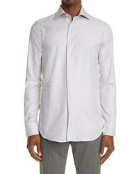 Canali Impeccabile Regular Fit Non Iron Cotton Dress Shirt