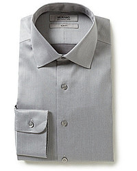 Murano Non Iron Slim Fit Spread Collar Dress Shirt