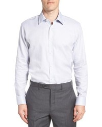Ted Baker London Ollyox Slim Fit Solid Dress Shirt