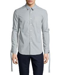Range whip woven dress shirt timberwolf gray medium 703119