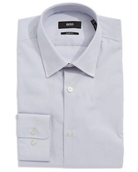 046b4054f Men's Grey Dress Shirts by Hugo Boss | Men's Fashion | Lookastic.com