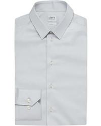 Armani Collezioni Single Cuff Stretch Cotton Shirt