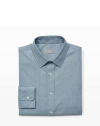 Club Monaco Slim Fit Chambray Dress Shirt
