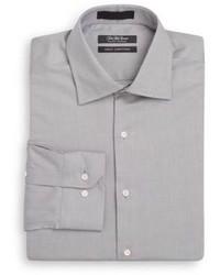 Saks Fifth Avenue Slim Fit Cotton Dress Shirt