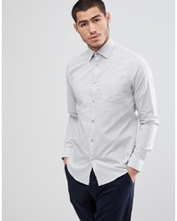 Esprit Slim Fit Smart Shirt In Mini Dot
