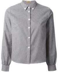 Textured weave shirt medium 160994