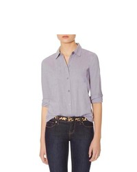 The Limited Button Down Shirt Grey L