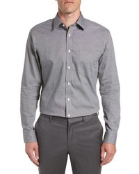 Nordstrom Men's Shop Trim Fit Non Iron Solid Dress Shirt