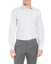 Bugatchi Trim Fit Print Dress Shirt