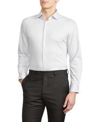 John Varvatos Star USA Trim Fit Solid Dress Shirt