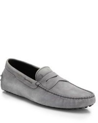 Grey Driving Shoes