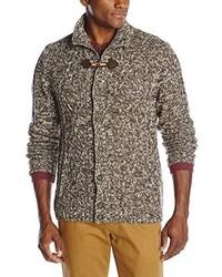 Marl toggle cardigan sweater medium 160058
