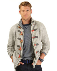 Nautica Wool Blend Toggle Sweater