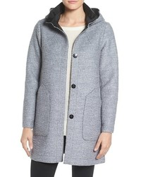 Vince Camuto Bonded Boucle Wool Coat