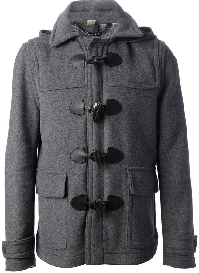 Burberry Brit Montgomery Duffle Coat