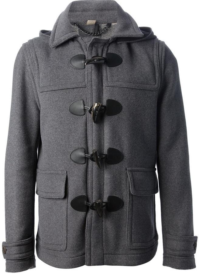 grey duffle coat burberry brit montgomery duffle coat. Black Bedroom Furniture Sets. Home Design Ideas