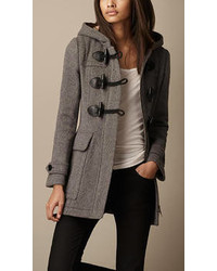 Women's Grey Duffle Coats from Burberry | Women's Fashion