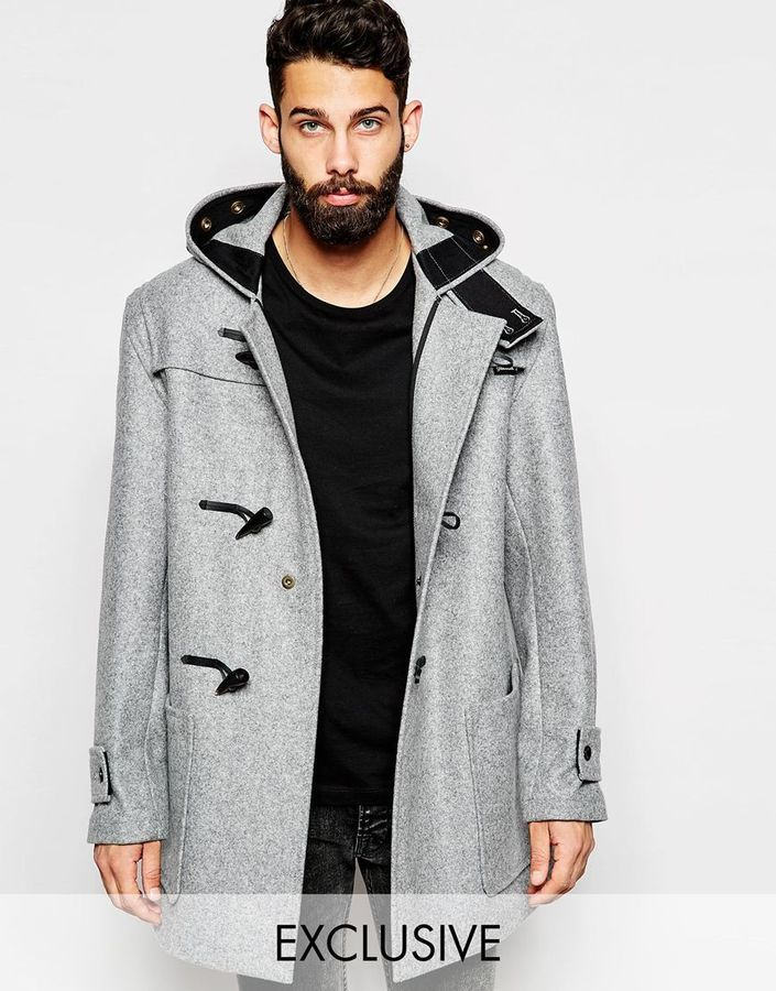Gloverall Duffle Coat In Melton Wool | Where to buy & how to wear