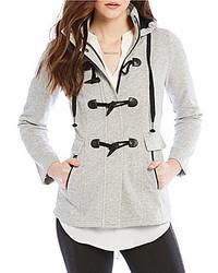 I.N. San Francisco Fleece Toggle Hooded Coat