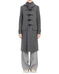 08sircus Hooded Toggle Coat Grey