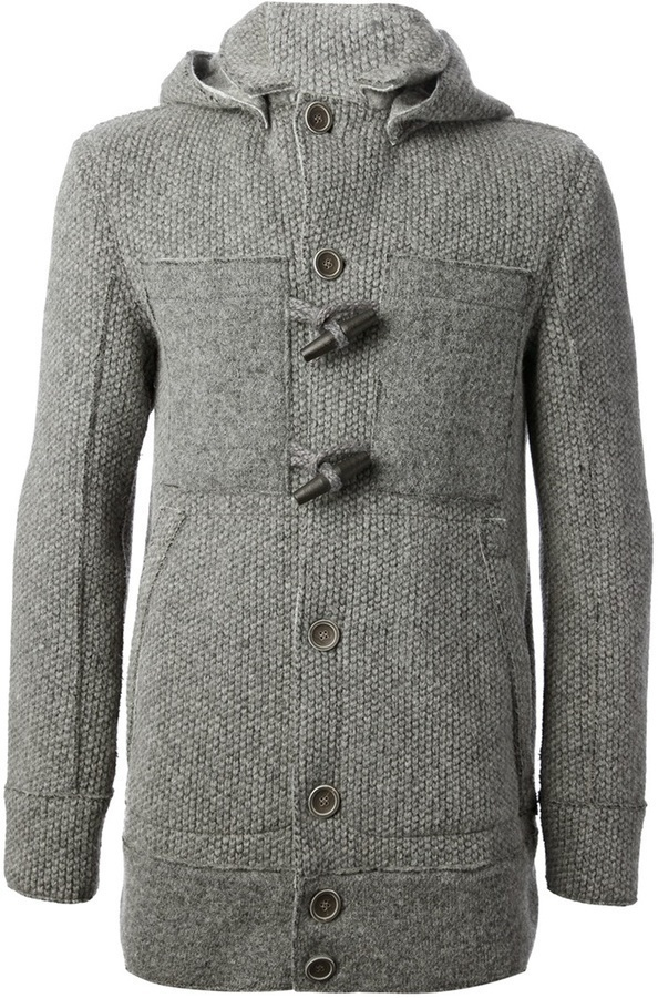 Coleman Jey Knitted Duffle Coat