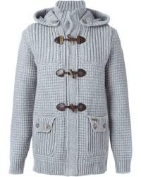 Bark Knitted Duffle Coat