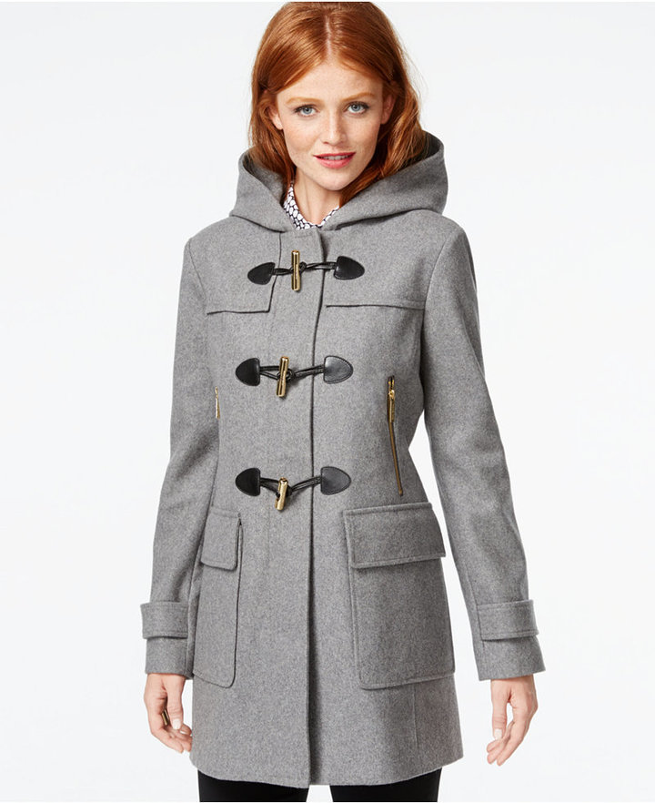 796c8cba2 Calvin Klein Women s Short Packable Down Jacket with Stand Collar Source · MICHAEL  Michael Kors Michl Michl Kors Faux Leather Trim Hooded