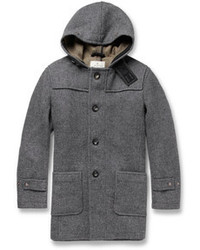 Private White Vc Hooded Wool Duffle Coat