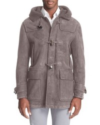 Toggle genuine shearling coat medium 590081