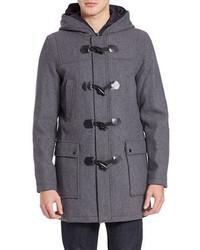 GUESS Wool Blend Toggle Coat