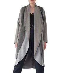 Sosken Brandy Stone Grey Duster Coat
