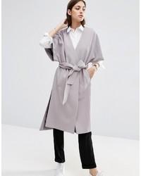 Asos Duster Coat With Kimono Sleeve